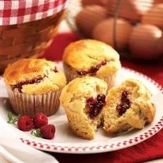 Peanut Butter & Jelly Muffins | Community Post: 55 Peanut Butter And Jelly Recipes