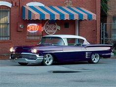 58 Impala. We all love our Muscle Cars. Check out your favorite Muscle Car Man…