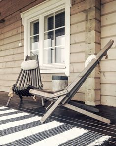 Nordic Interior, Interior And Exterior, Outdoor Sauna, Outdoor Decor, Taste Of Nature, Cottage Design, Rustic Elegance, Log Homes, Scandinavian Style