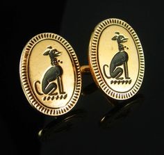 What a great gift idea that shows you took the time to care about that special person in your life. For dog lovers, trainer and handlers these rare and had to find cufflinks would really bring attention to those cuffs.  And remember, a personal well thought out gift shows you took the time to care about that special person in your life. Our items are classic, sometimes unusual and vintage and sometimes a little bizarre. Whether it is a memory from their past or something that reminds you of…