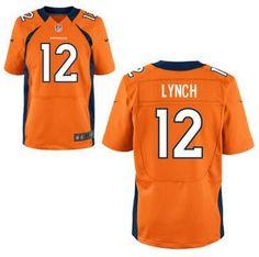 Men's Denver Broncos #12 Paxton Lynch Nike Orange Elite 2016 Draft Pick Jersey
