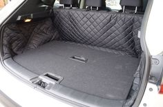 Nissan Qashqai (2014-) Quilted Waterproof Boot Liner (with removavle shelves in…