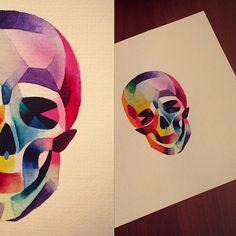 #rainbow #skull #sashaunisex