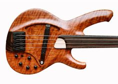 """The vViper bass employs a patented """"wiping"""" pickup, custom designed to sense the strings across a wide swath of tonal variations.—Spalt Instruments"""
