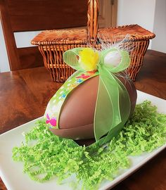 Chocolate Easter Egg Greeting Card for Sale by Andrea Rea