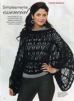 View album on Yandex. Broomstick Lace Crochet, Hairpin Lace Crochet, Crochet Blouse, Knit Crochet, Hairpin Lace Patterns, Unique Crochet, Lace Scarf, Crochet Woman, Vintage Knitting