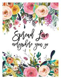 Giclee Print: Spread Love Everywhere by Amy Brinkman : 32x24in