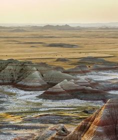 Sage Creek Primitive Campground, Badlands National Park, South Dakota - America's Most Scenic Campgrounds | Travel + Leisure