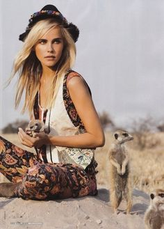 Isabel Lucas for Vogue Australia December 2011