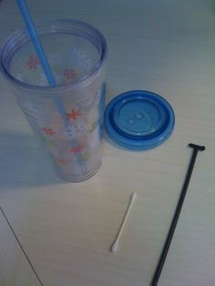 clean your re-usable straws!! those things are nasty! jedandivy.blogspot.com