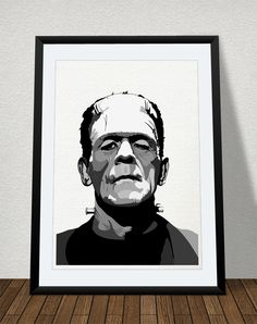 A vectorized print of the classic monster of Dr. Can be bought in different formats/sizes. From to © copyright/all rights reserved to Mojostore™ and Mojo Art & Design. Dr Frankenstein, Classic Monsters, A5, Horror, Batman, Posters, Fine Art, Superhero, Poster