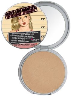 The Balm's Mary-Lou Manizer® my favorite highlight! I also use it as a shadow a lot.