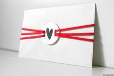 Liebesbrief Verpackung