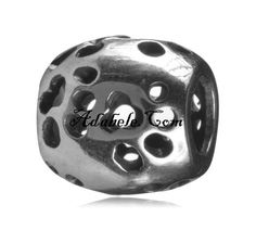 This beautiful happy dog paws .925 Sterling Silver European charm fits Pandora, Biagi Trollbeads, Chamilia, and most charm bracelets find out more at adabele.com