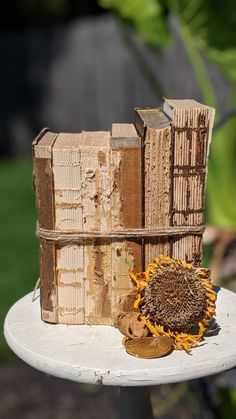 Old Books, Vintage Books, Book Centerpieces, Small Book, Heart Melting, Anne Of Green Gables, Farmhouse Style Decorating, Little Books, Bird Feeders