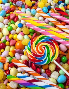 - very nice stuff - share it - Colorful Candy iPhone Wallpaper Candy Art, Colorful Candy, Candy Colors, Candy Store, Savoury Cake, Rainbow Colors, Cute Wallpapers, Chocolates, Sprinkles