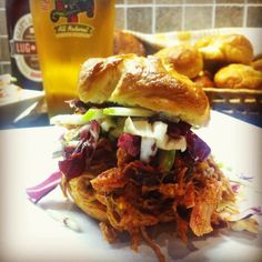 Smoked Beau's Pulled Pork