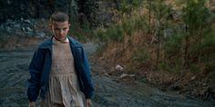 Onze / Eleven dans la série de Netflix Stranger Things