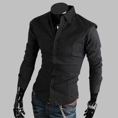 Black Casual Shirts For Men