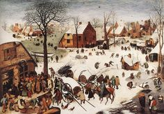 §§§ : The Numbering at Bethlehem : Pieter Bruegel the Elder : 1566