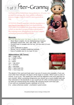 Best 10 Craftergranny_en 1 pdf diana wodlinger has shared a file with you acrobat comPATTERN Althaena and Chrysanna Fairy Crochet by epickawaii – SkillOfKing. Crochet Home, Crochet Gifts, Diy Crochet, Crochet Baby, Crochet Pincushion, Crochet Motif, Amigurumi Free, Amigurumi Doll, Granny Dolls