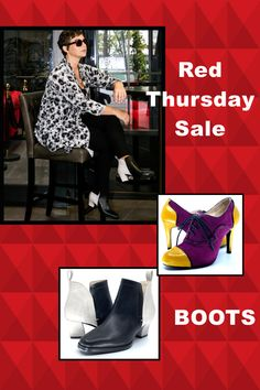 RED Thursday Sale - Starts Now!! 👠Amazing Red Thursday 👠 Buy any 2 + Pairs and get 30% of ALL 🥂 Click on link and look around first in best choice 🥰 Looking for a NEW pair of BOOTS for next winter? There's no better time to buy than right now! We've started Black Friday early 👠 #shoeaddict $australiandesigner #shoelover #scarlettos #iloveshoes #redthursday Visit Amazing Red, Boots For Sale, Shoes Online, Black Friday, Thursday, Pairs, Link, Winter, Stuff To Buy