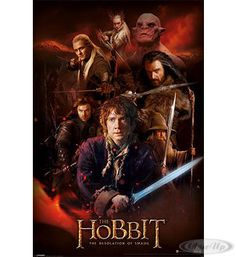 The Hobbit Poster Montage The Desolation of Smaug Hier bei www.closeup.de