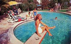vintage pool party - Google Search
