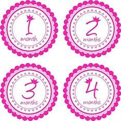 Little LillyBug Designs - Monthly Baby Stickers - Princess - Tiara, http://www.amazon.com/dp/B00OKWH98K/ref=cm_sw_r_pi_awdm_s4axvb1AJBC66