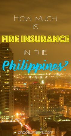How Much is Fire Insurance in the Philippines? – Online and Offline Transactions Buying A Condo, New Condo, Money Saving Tips, Philippines, Finance, Fire, Diamond, Diamonds, Finance Books