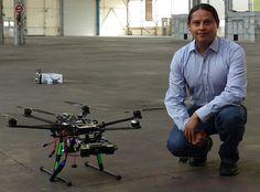 Mexicano crea drones que vuelan de manera autónoma y aprenden nuevas rutas - http://webadictos.com/2015/05/06/mexicano-crea-drones-autonomos/?utm_source=PN&utm_medium=Pinterest&utm_campaign=PN%2Bposts