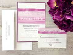 Wedding Invitation Everlasting Charm Wedding by PerfectlyInvited