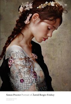 Once upon in a Fairytale - Inspiration. Astrid Berges-Frisbey photographed by Simon Procter for Vs Magazine, Fall 2012