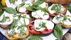 Sandwich Caprese Recipe by Emeril Lagasse | Recipe - ABC News