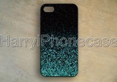 Mint Sparkle GlitterSamsung Galaxy S5iPhone by HarryiPhonecase, $0.20