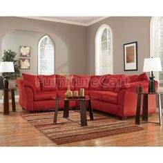 Darcy - Salsa Sectional Living Room Set $829.25