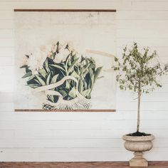 Peonies Vintage Inspired Tapestry - Aimee Weaver Designs Barn Wood Signs, Reclaimed Barn Wood, Dining Room Inspiration, Floral Wall, Beach House Decor, Coastal Decor, Peonies, Farmhouse Decor, Vintage Inspired
