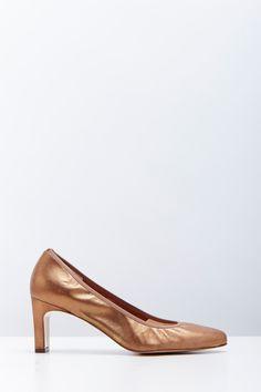 Venda Accessoire Diffusion / 24753 / Sapatos de salto / Sapatos salto couro Epure Bronze