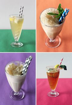 Cocktail Ice Cream Floats