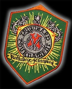 HARRY POTTER TRIWIZARD TOURNAMENT Competitor s Embroidered Patch!