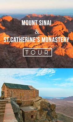 Experience an unforgettable #sunrise on the top of holy Mt. Sinai! If that`s what you`d really like to experience –welcome to #Israel. Join our tour! #MountSinai #monastery