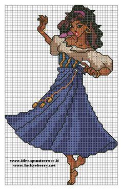 punto croce schemi esmeralda - Cerca con Google