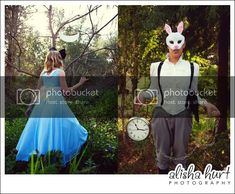 Alisha Hurt Photography: Alice in Wonderland Shoot Alice In Wonderland Photography, It Hurts, Couples, Couple, Romantic Couples