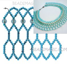 Best Seed Bead Jewelry 2017 Schema for Sweet Berries Necklace Seed Bead Tutorials Beaded Necklace Patterns, Beaded Jewelry Designs, Handmade Beaded Jewelry, Seed Bead Jewelry, Bead Jewellery, Bracelet Patterns, Beaded Bracelets, Beaded Crafts, Jewelry Crafts