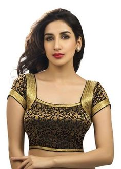 No need to look anywhere else for trendy readymade blouse. We have hundreds of appealing designs for blouses to match with your sarees. Saree Blouse Patterns, Designer Blouse Patterns, Fancy Blouse Designs, Blouse Neck Designs, Readymade Blouses Online, Designer Blouses Online, Stylish Blouse Design, Indian Fashion, Women's Fashion
