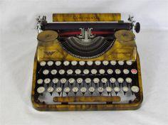 1935 Continental Typewriter