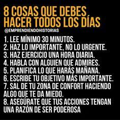Para mí la 7 es la más importante, porque es la más incómoda. #purpose at day