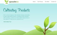 29 Green Eco-Friendly Website Layouts - DesignM.ag