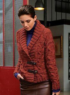 Ravelry: 592 - Short Jacket pattern by Bergère de France