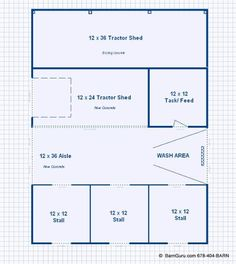 horse barn layout   Any Style, Any Size, From Opulent To Practical, We Build Anything and ...